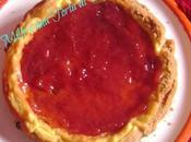 Cheesecake marmellata fragole