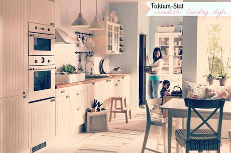 Come progettare una cucina ad ikea paperblog - Cucine ikea country ...