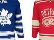 Winter Classic 2014, jersey retrò Detroit Toronto