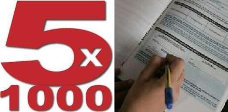5 x mille 2013: guida per le organizzazioni accreditate e per i contribuenti