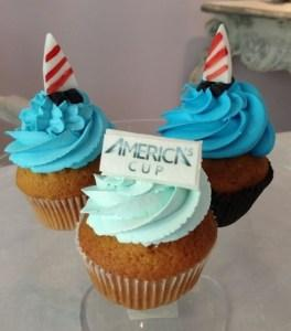 Cup-cakes omaggio America's Cup