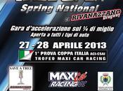 Prima gara campionato d'accelerazione Coppa Italia 2013 Trofeo Maxi Racing