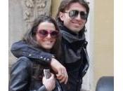 Riccardo Montolivo Cristina nelle della moda Milano (foto)
