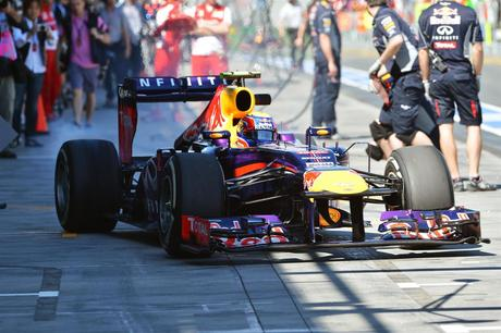 ANALISI TECNICA RED BULL RB9 - GP. MELBOURNE