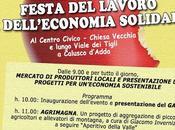 Festa lavoro dell'economia solidale: Mamma Canguro Calusco d'Adda maggio