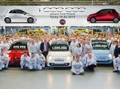 Fiat festeggia milione prodotte dallo stabilimento Tychy