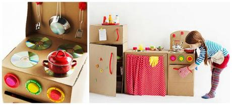 Mobili di cartone per bambini paperblog - Mobili di cartone design ...