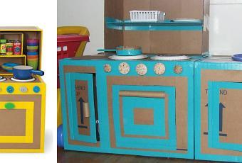 Mobili di cartone per bambini paperblog - Costruire mobili in cartone ...