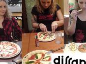 Giovane, predisposta martirio, avventura nella pizza cost giapponese