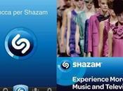 Shazam dalla musica alla moda