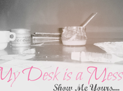 Desk Mess! Illustrations Linky Party