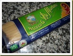 Spaghetti con ragù di sgombro (1)