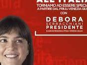 Debora Serracchiani oltre Friuli Venezia Giulia