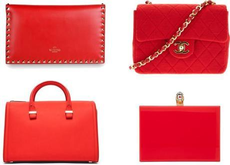 Tendenza Borse: Red Handbags