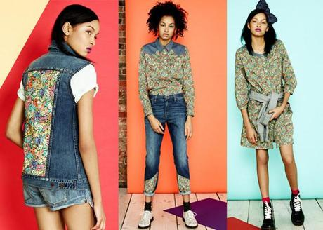 Levi's X Liberty Collection