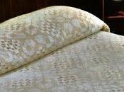 copriletto formato tante piastrelle lavorate filet.