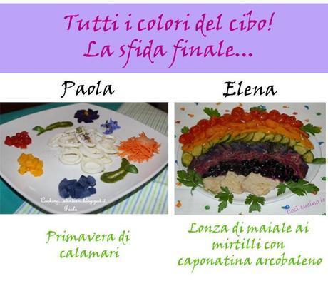 Tutti i colori del cibo! La sfida finale…