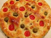 Ricette focacce focaccia patate olive pomodorini
