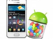Samsung Galaxy Advance: arriva Android 4.1.2 Jelly Bean
