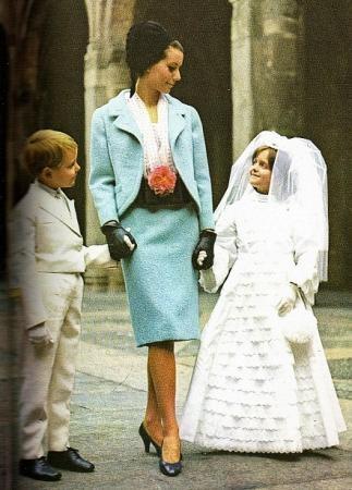 ff8cd9c821a4 Abbigliamento degli anni Sessanta  Comunione e Cresima. - Paperblog