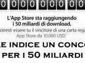 L'App Store Apple raggiunge miliardi download: indetto concorso