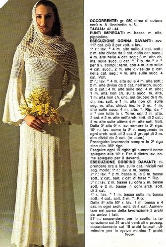 Uncinetto Abito Da Sposa Vintage Paperblog