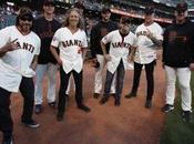 Metallica: inno americano prima partita baseball
