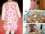 terzo compleanno Maria collage