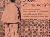 ROSSELLA FALK LETTERE NOVIZIA Guido Piovene (1962)