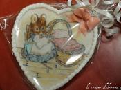 Painting cookies inspirated Beatrix Potter
