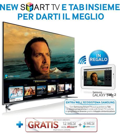 promo samsung smart tv se compri una smart tv ricevi in regalo un galaxy tab 2 7 0 paperblog. Black Bedroom Furniture Sets. Home Design Ideas