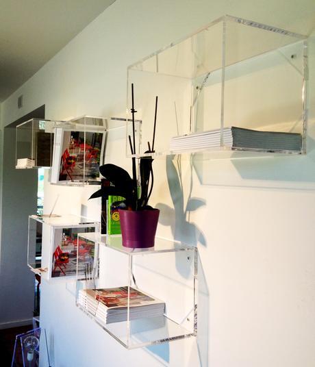Design online libreria modulare a cubi in plexiglass for Libreria cubi ikea