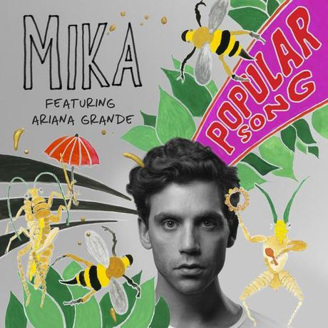 themusik Popular Song feat. Ariana Grande cover Single Popular Song di Mika feat. Ariana Grande