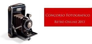 concorso fotografico retro