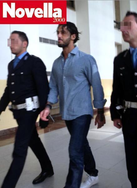 Fabrizio Corona dopo 106 giorni di carcere: la prigione ti fa bello – le foto