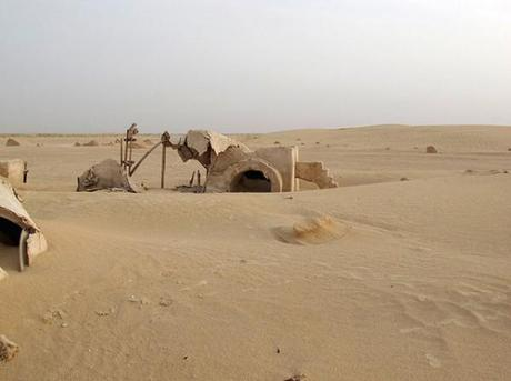 I set abbandonati di Star Wars in Tunisia