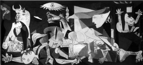 Guernica Painting By Pablo Picasso German Bombing 1937