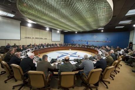 Il Capo di Stato Maggiore della Difesa al Comitato dei Capi di Stato Maggiore della NATO e dell'Unione Europea