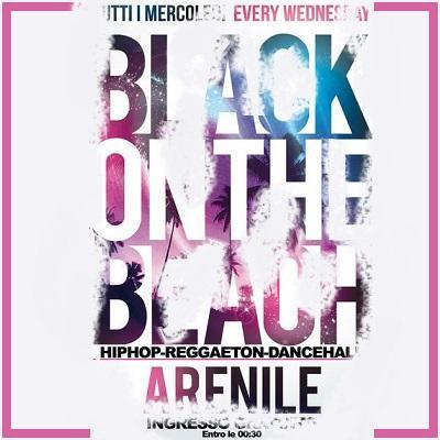 "22 Maggio 10° Anniversario ""BLACK ON THE BEACH 2013"" ALL'ARENILE DI BAGNOLI"