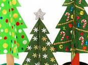Natale 2010: costruire alberelli carta