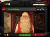 Inviare auguri personalizzati Babbo Natale: Polo Nord Portatile
