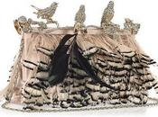 Crystal embellished feather clutch Valentino