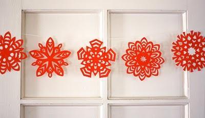 Fiocchi Di Neve Di Carta Facili : Fiocchi di neve di carta semplici lindarose creations tutorial