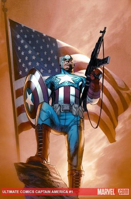 Ultimate Comics Captain America #1 cover