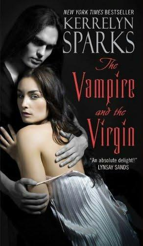 book cover of   The Vampire and the Virgin    (Love at Stake, book 8)  by  Kerrelyn Sparks