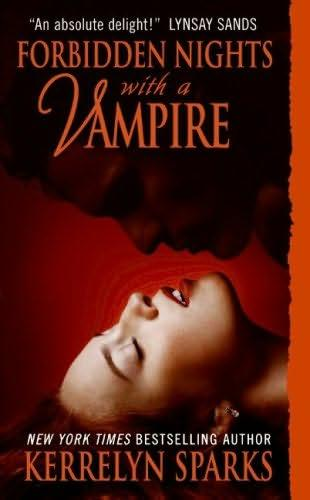 book cover of   Forbidden Nights with a Vampire    (Love at Stake, book 7)  by  Kerrelyn Sparks