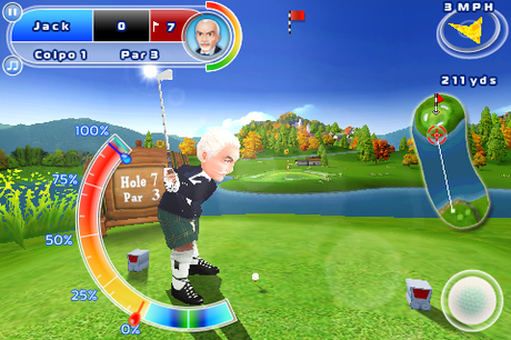 LetsGolf Iphone IT screen 1 Gameloft rilascia i nuovi giochi per Android: Brothers in Arms 2, Let's Golf 2 e Fishing Kings