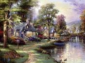 Thomas Kinkade: pittore paesaggi incantati