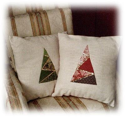 Cucito creativo cuscini natalizi ma non troppo - Nozioni di cucito come ricoprire un divano ...