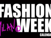 Milano Fashion Week Autunno Inverno 2011 Calendario